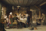A Game Of Dice, 1873 by Max Kaltenmoser