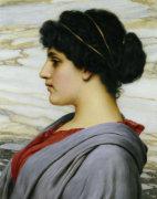 Perilla, 1911 by John William Godward