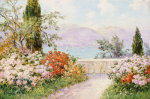 The Gardens Of The Villa Melzi On Lake Como by Friederich Arnold