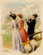 At The Races by Carl Hermann Kuechler