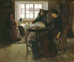 The Fisherman's Home by Frank Bramley
