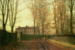 Going To Church, 1880 by John Atkinson Grimshaw