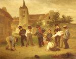Hopscotch by Theophile Emmanuel Duverger