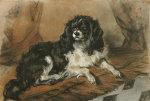 A King Charles Spaniel by Sir Edwin Henry Landseer