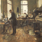 The Tailors by Leon Bartholomee