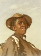 A Negro, Head And Shoulders by Frank Buchser