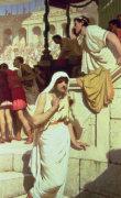 The Gladiators Wife, 1884 by Edmund Blair Leighton