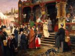 A Fair In Berlin by Carl Welz