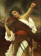 Bacchante, 1895 by Lord Frederic Leighton