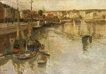 Dieppe by Fritz Thaulow