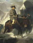 Napoleon Crossing The Alps, 1848 by Paul Delaroche