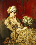 The Odalisque by Jan Frans Portaels