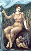Earth Mother, 1882 by Sir Edward Burne-Jones