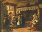 The School Room, 1853 by Alfred Rankley