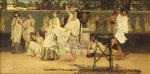 Bacchanal, 1871 by Sir Lawrence Alma-Tadema