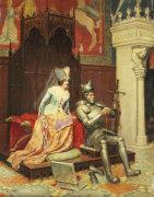 An Arthurian Legend by Jean-Louis Ernest Meissonier