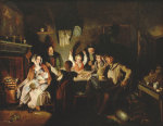 The Game Of Draughts, 1846 by William Henry Knight