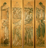 The Nativity, Window At St. Deiniol, Hawarden, 1897 by Sir Edward Burne-Jones