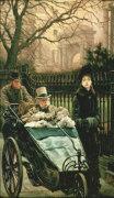 The Convalescent by James Jacques Joseph Tissot