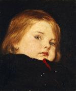 Portrait Of A Child by Nicolas Gysis