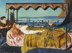 Elaine, 1864 (The Lady of Shalott) by John Atkinson Grimshaw