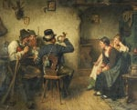 Postillion Im Wirtshaus, 1887 by Hugo Kauffmann