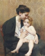 Maternity, 1899 by Paul Leroy