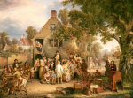 An Auction In A Village by Edwin Cockburn