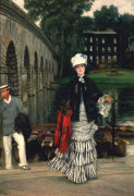 The Return From The Boating Trip, 1873 by James Jacques Joseph Tissot