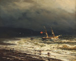Off The Turkish Coast, 1847 by Ivan Konstantinovich Aivazovsky