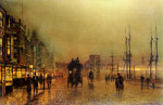 Glasgow by John Atkinson Grimshaw
