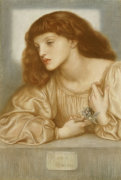 May Morris, 1872 by Dante Gabriel Rossetti