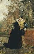 Farewell Mother, 1888 by Karl Heinrich Hoff