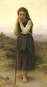 Petite Bergere by Adolphe William Bouguereau
