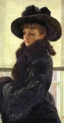 Mavourneen, Portrait Of Kathleen Newton, 1877 by James Jacques Joseph Tissot