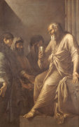 The Death Of Socrates by Salvator Rosa