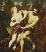 The Rape Of Proserpine by Paris Bordon