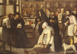 A Tax Office With Peasants Queuing To Make Payments In Kind by Pieter Brueghel The Younger