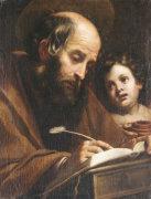 Saint Matthew by Matteo Rosselli