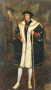 Portrait Of Thomas Howard, Third Duke Of Norfolk (1473-1553), C.1520 by Hans Holbein The Younger