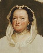 Portrait Of Maria Josepha Of Austria, (1699-1757) by Anton Raphael Mengs