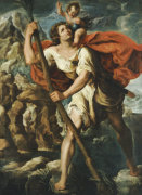 Saint Christopher by Orazio Borgianni