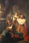 Solomon Worshipping False Gods, 1766 by Pompeo Batoni