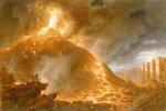 The Eruption Of Vesuvius, 1768 by Francesco Fidanza