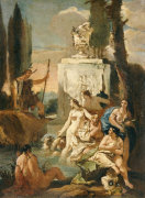 Diana And Acteon by Giovanni Battista Tiepolo