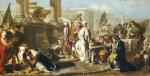 The Sacrifice Of Polyxena At The Tomb Of Achilles by Giovanni Battista Pittoni