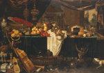 A Banquet Still-Life by Jan Frederick Goiber