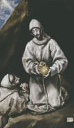 Saint Francis And Brother Leo in Meditation by El Greco