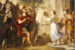 Jephthah Greeted By His Daughter by Erasmus Quellinus