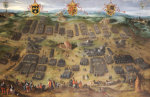 The Battle Of Moncontour, 30 October 1569 by Jan Snellinck